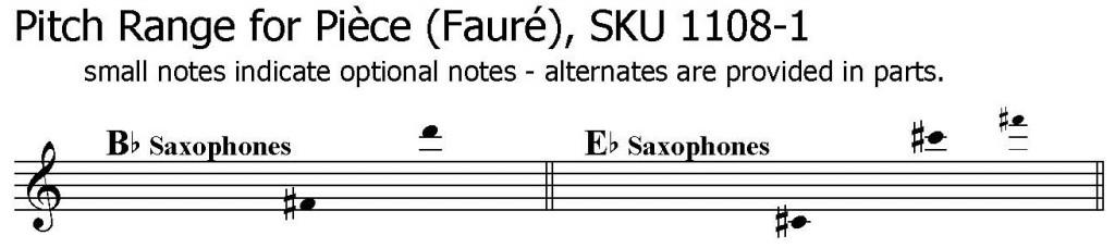Gabriel Faure Etude Vocalise, Alto Saxophone Solo, Soprano Saxophone Solo