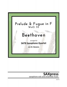 Beethoven Prelude and Fugue in F