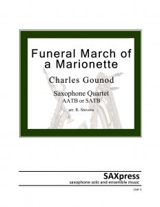 Funeral March of a Marionette - SAX QUARTET
