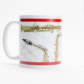 Sax Quartet Coffee Mug