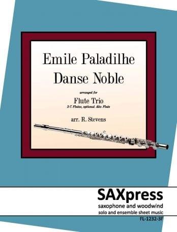 Danse Noble Emile Paladilhe Flute Trio