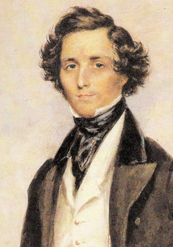Felix Mendelsson, COmposer of Nocturne from A Midsummer Night's Dream, by Mendelssohn, Sax Choir